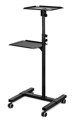Mount-It! Mobile Projector Stand, Height-Adjustable Laptop a