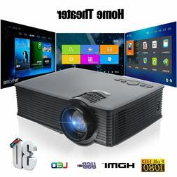 Multimedia 5000 Lumens HD bluetooth 3D 4K LED Home Cinema Th