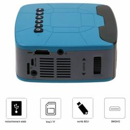 Multimedia Projector Mini 1080P PPT Full HD TFT LED USB HDMI