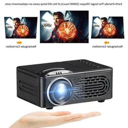 new 3d full hd mini projector led