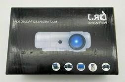 New DR.J LED Mini Video LED Projector 2400 lumens 1080P Mode