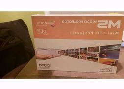 new in box m5 dlp micro projector