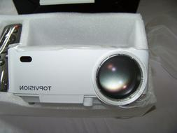 NEW TOPVISION Mini LED Home Theater Projector Model T21 Sync