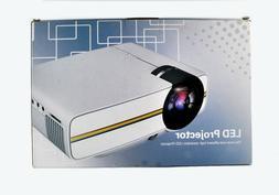 New Fosa Mini Projector Portable 1080P LED Projector Indoor/