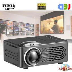 New Portable Mini Projector Full HD 1080P Home Theater Cinem
