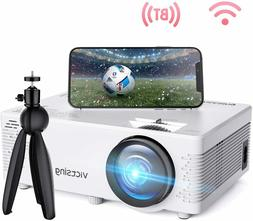 NEW Portable Mini WiFi Projector 4200L Wireless Bluetooth Pr