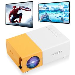 1080P HD LED Projector Kits Lot Phone Video Mini Home Theate