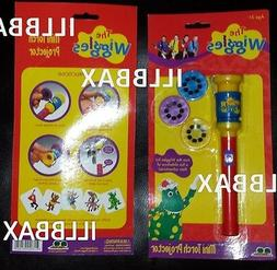 NEW Wiggles LIVE Mini Master Torch Projector 3 Slides View V