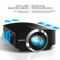 NIB!  GooDee Mini Projector Upgraded 2019 Version 2800 Lumen