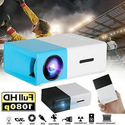 Mini Portable HD 1080p LED Projector Home Theater Cinema Mov