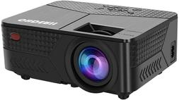 OHDERII Mini Projector,1080p Maximum display is 200 inches S