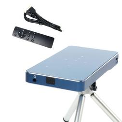 YaeCCC P1 Projector Support 1080P Ultra-Portable Size & 120-