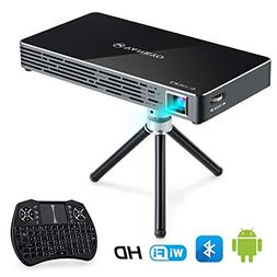 VANKYO Passport M50 DLP Smart Mini Portable Projector, 100 A