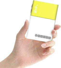 Pico Projector - Artlii 2019 New Pocket Projector, Mini Proj