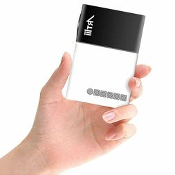 Pico Projector, Artlii Movie iPhone Mini Pocket Laptop Smart