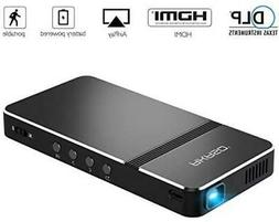 Pico Projector, AKASO Mini Projector Portable 1080P HD DLP L
