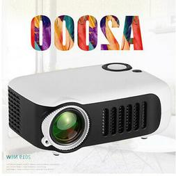 portable 1080p hd mini lcd projector multimedia