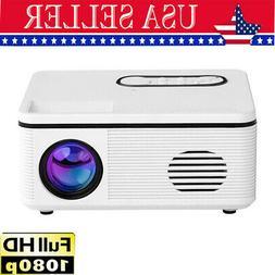 portable 1080p hd projector mini home theater