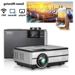 2800LMS HD Portable Home Theater Mini WiFi Projector Wireles
