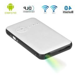Portable LED Mini Projector Android DLP HDMI Home Pocket The