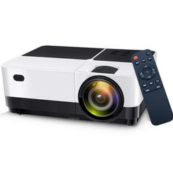 Portable LED Projector Home Theater 2500 Lumens Movie Video