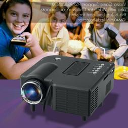 Portable Mini 1080P HD DLP 3D WiFi Projector LCD Home Theate