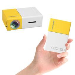 portable mini 1080p hd led projector home