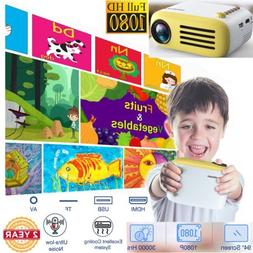 Portable Mini 1080P HD Video Game Projector LCD LED Multimed