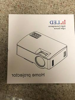 RAGU Portable Mini Home Video Projector HDMI VGA LED AV TV T