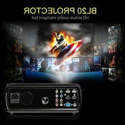 Portable Mini LED Projector 7000 Lumens Home Cinema Theater