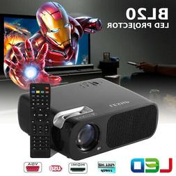 portable mini led projector 7000 lumens home