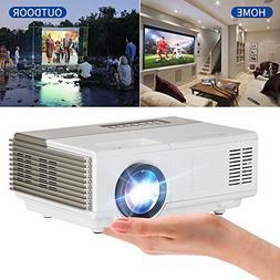 "Portable Mini Projector 1500 Lumen 120"" Display , Multimedia"