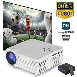 Portable Mini Projector Full HD 1080P LED Home Theater Cinem