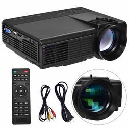 Portable Mini Projector HD 1080P Home Theater Video Movie Ga