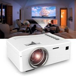 Portable Mini Projector HD 1080P Home Theater LED Video Movi