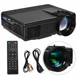 Portable Mini Projector HD 1080P Home Theater Video Movie Ga