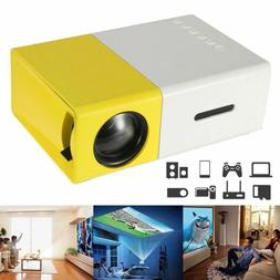 Portable Mini Projector YG300 3D HD LED Home Theater Cinema