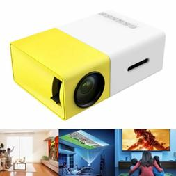 Portable Mini Projector YG300 3D HD LED Home Theater Cinema
