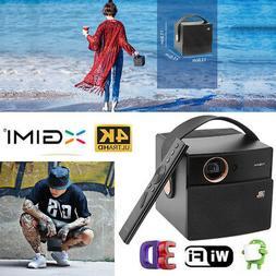 Portable Mini Projector350 ANSI Lumens Ultra HD 4K Home Thea