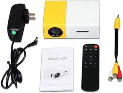 Portable Mini projectors 1080P Home Party Meeting Theater  L