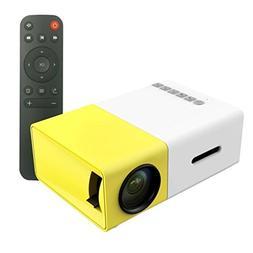 Portable Mini LCD Projectors, Multimedia 1080P LED Pico Mobi