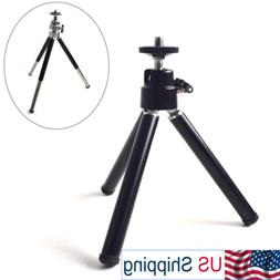 Portable Mini Tripod with Ball Head Tabletop Desktop Stand f