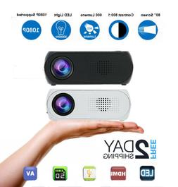 Portable Mini WIFI 3D 1080P HD LED Projector Home Theater Mu