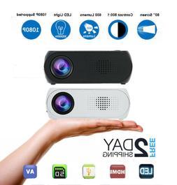 Portable Mini WIFI 3D 1080P HD LED Projector Home Theater Mu