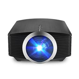 Portable Video Projector, MiraScreen Multimedia Home Theater