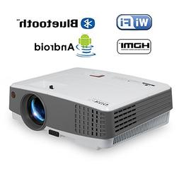 Portable Mini LCD Led Smart WiFi Projector with Bluetooth 26
