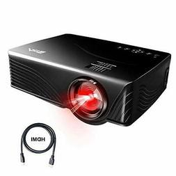 Portable Projector, Artlii Mini Projector for iPhone, Home T