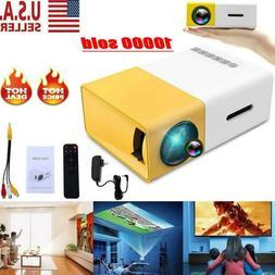 Portable YG300 1080P Home Theater Cinema USB HDMI AV SD Mini