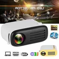 600 Lumens YG300 LED Mini Portable HD Projector Theater Cine