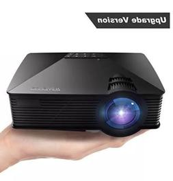 Projector 2018 Upgraded DBPOWER Mini Projector 50% Lumens 50